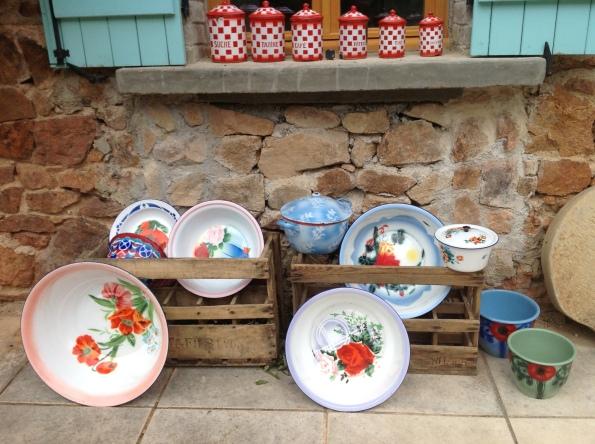 bowls and tins