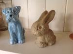 Sylvac Dog and Rabbit