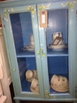 Painted cupboard